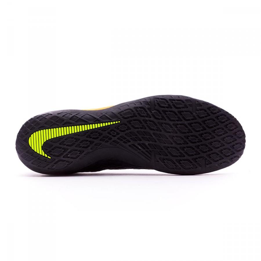 brand new aedd7 a0bde Futsal Boot Nike HypervenomX Phelon III IC Laser orange-Black-White-Volt -  Football store Fútbol Emotion