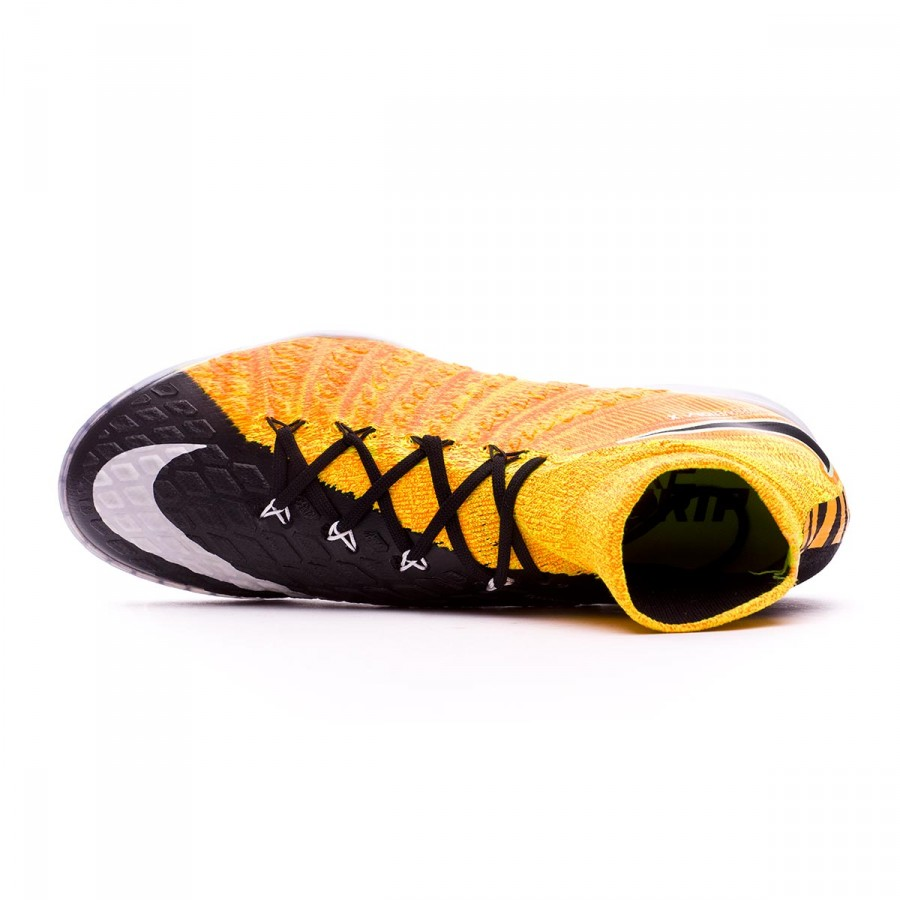 finest selection 3e31c 9b629 Futsal Boot Nike HypervenomX Proximo II DF IC Laser orange-Black-White-Volt  - Football store Fútbol Emotion