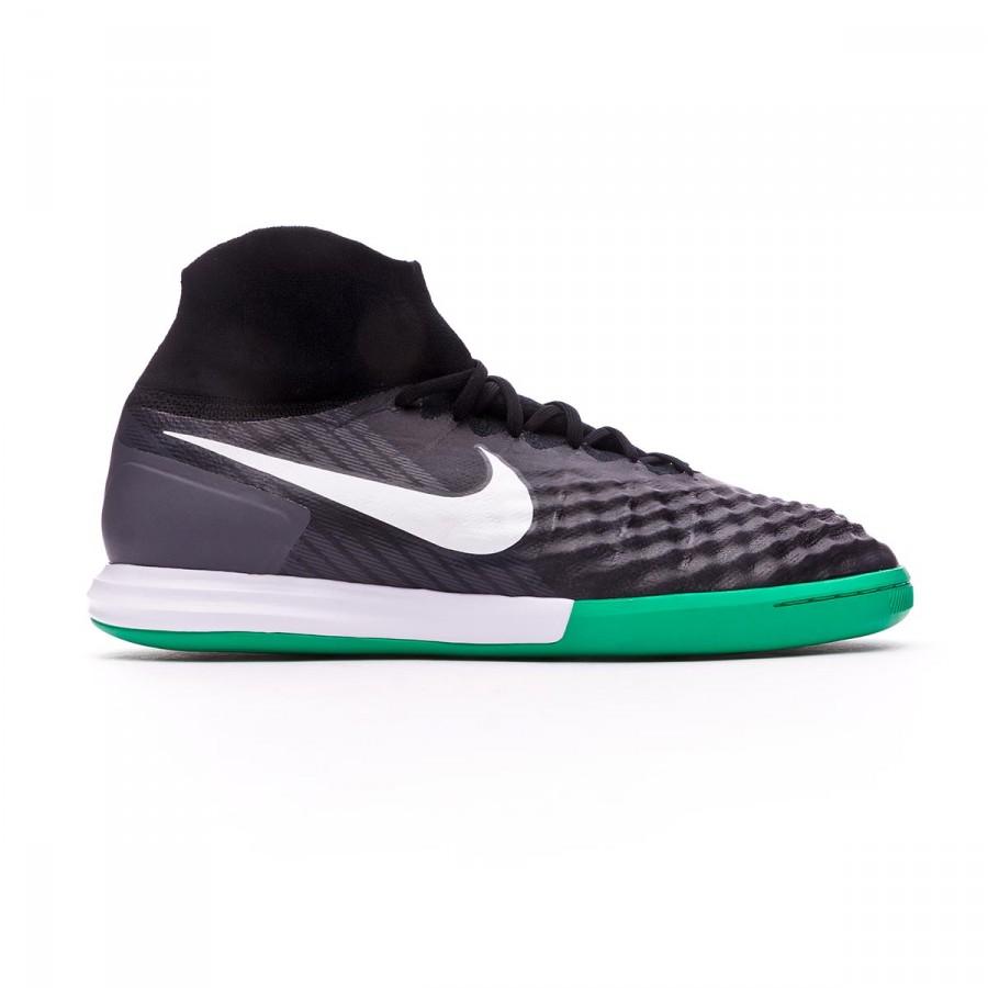reputable site 1a29d f661b Tenis Nike MagistaX Proximo II DF IC Black-White-Cool grey-Stadium green -  Soloporteros es ahora Fútbol Emotion