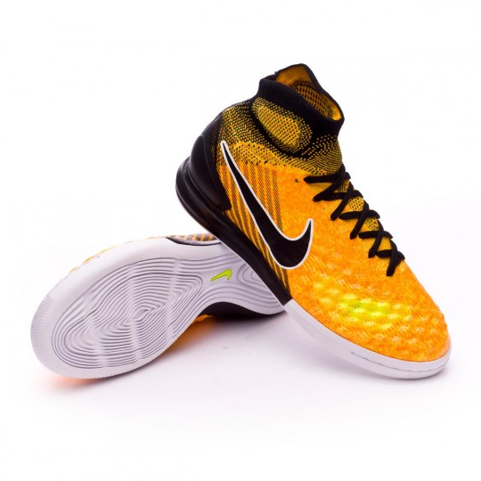 Chaussure de futsal  Nike Jr MagistaX Proximo II IC Laser orange-Black-White-Volt