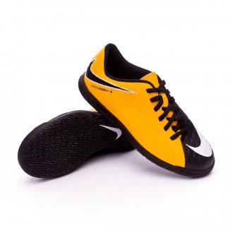 Zapatilla  Nike HypervenomX Phade III IC Niño Laser orange-Black-White-Volt