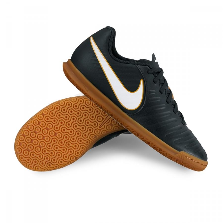 ffbf71f5e2f Futsal Boot Nike Jr TiempoX Rio IV IC Black-White - Football store ...