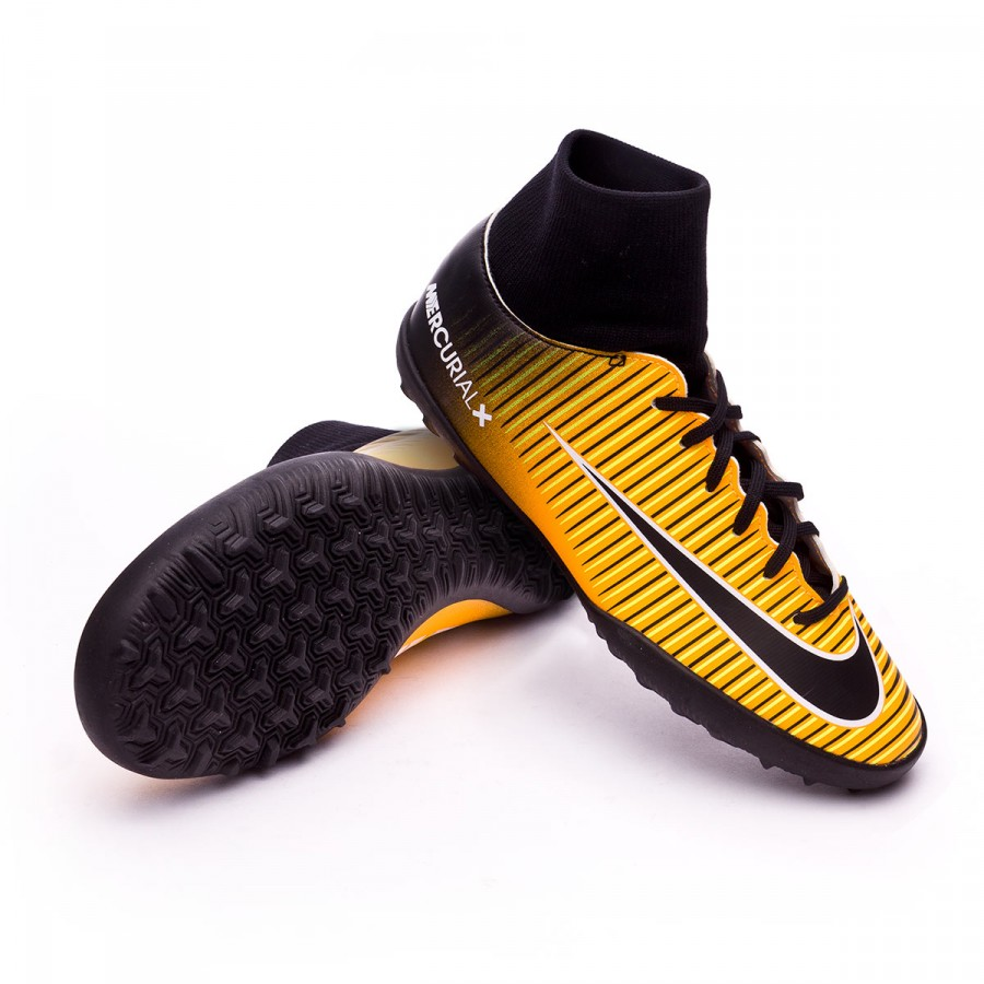 Zapatilla Nike MercurialX Victory VI DF Turf Niño Laser  orange-Black-White-Volt - Soloporteros es ahora Fútbol Emotion a5fb6b9e0338f