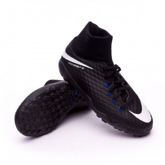 Sapatilhas  Nike Jr HypervenomX Phelon III DF Turf Black-White-Game royal