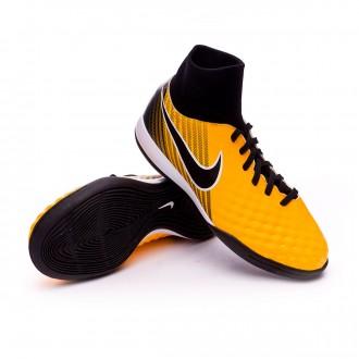 Zapatilla  Nike MagistaX Onda II DF IC Niño Laser orange-Black-White-Volt