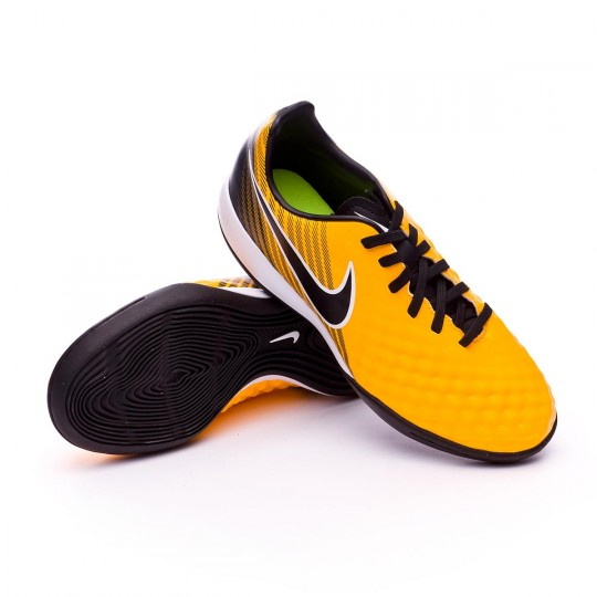 Chaussure de futsal  Nike Jr MagistaX Onda II IC Laser orange-Black-White-Volt