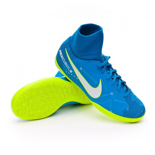 Zapatilla  Nike MercurialX Victory VI DF IC Neymar Niño Blue orbit-White-Armory navy