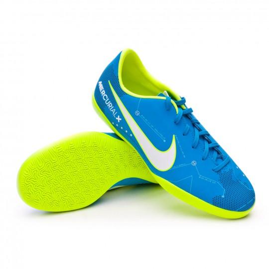 Chaussure de futsal  Nike Jr MercurialX Victory VI IC Neymar Jr Blue orbit-White-Armory navy