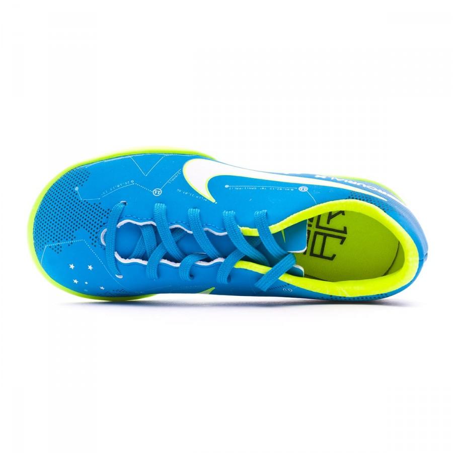 e3d6e1e5a Football Boot Nike Kids MercurialX Victory VI Turf Neymar Jr Blue orbit- White-Armory navy - Tienda de fútbol Fútbol Emotion