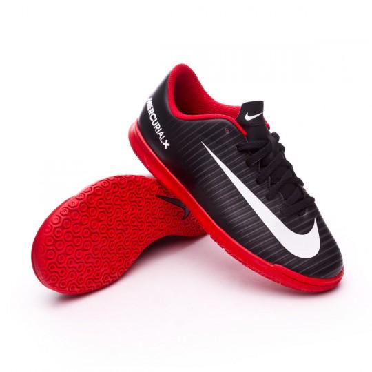 Zapatilla de fútbol sala  Nike jr MercurialX Vortex III IC Black-White-Dark grey