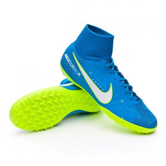 Chaussure  Nike MercurialX Victory VI DF Turf Neymar Blue orbit-White-Armory navy