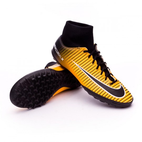 Zapatilla  Nike MercurialX Victory VI DF Turf Laser orange-Black-White-Volt