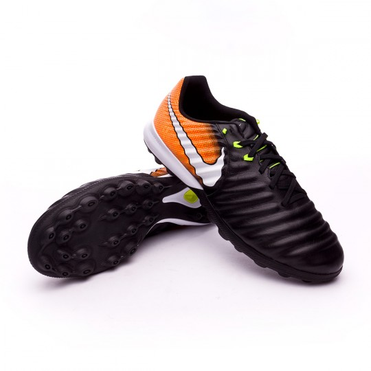 Zapatilla  Nike TiempoX Finale Turf Black-White-Laser orange-Volt