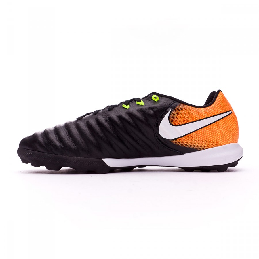 best service 6cb59 c90b2 Football Boot Nike TiempoX Finale Turf Black-White-Laser orange-Volt -  Soloporteros es ahora Fútbol Emotion