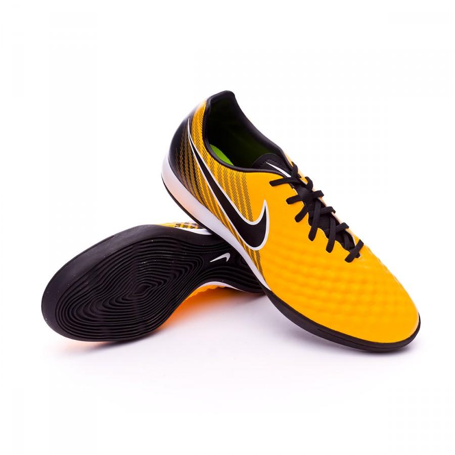 f474f8dbddb1 Nike MagistaX Onda II IC Futsal Boot. Laser orange-Black-White-Volt ...