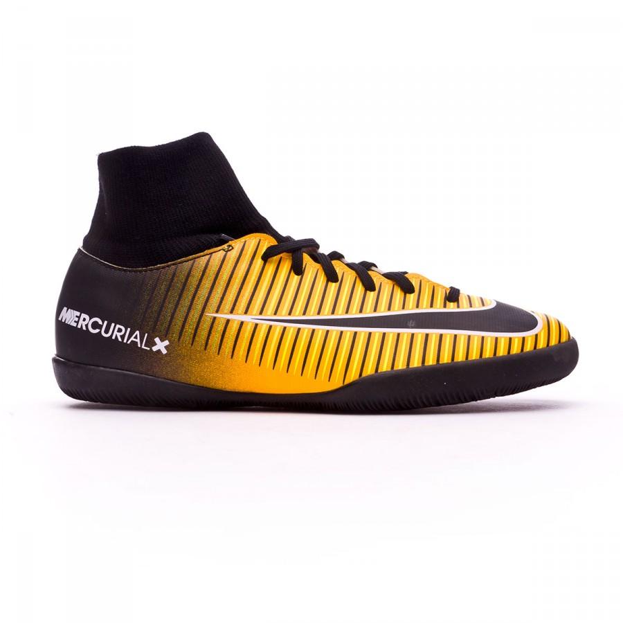 7a823ef8e Futsal Boot Nike Jr MercurialX Victory VI DF IC Laser orange-Black-White-Volt  - Football store Fútbol Emotion