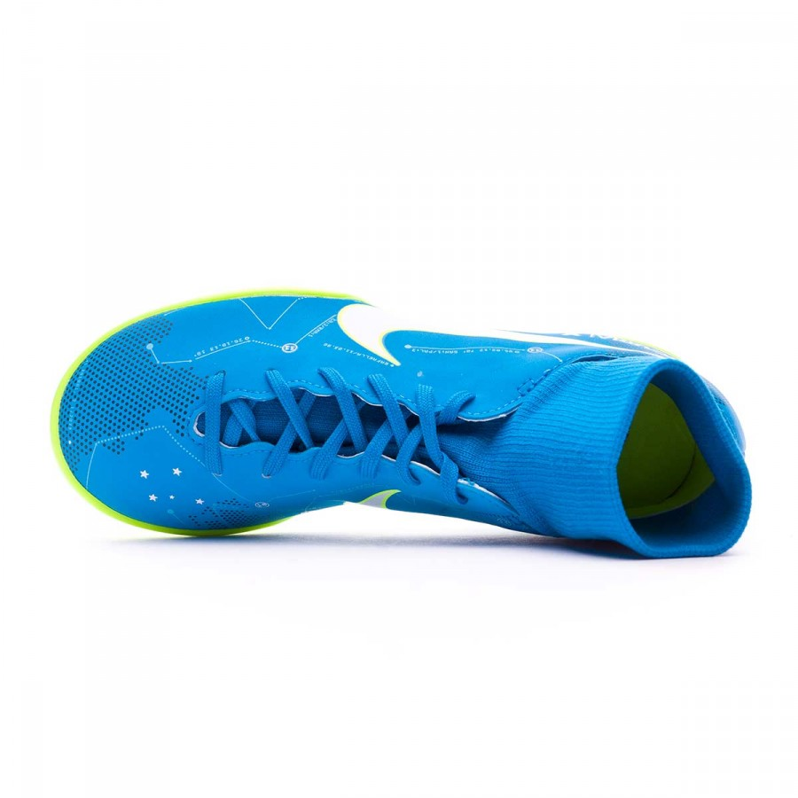 c31d0700882 Football Boot Nike MercurialX Victory VI DF Turf Neymar for kids Blue  orbit-White-Armory navy - Football store Fútbol Emotion