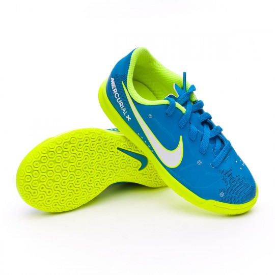 Zapatilla  Nike MercurialX Vortex III IC Neymar Niño Blue orbit-White-Armory navy