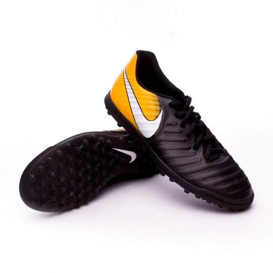 Zapatilla  Nike TiempoX Rio IV Turf Black-White-Laser orange-Volt