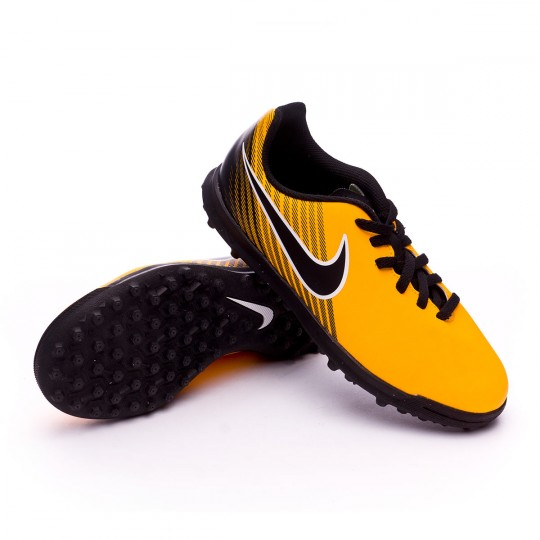 Zapatilla  Nike MagistaX Ola II Turf Niño Laser orange-Black-White-Volt