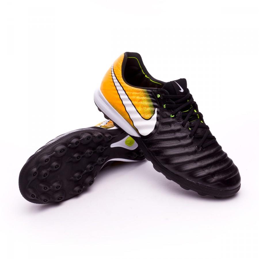 ... Zapatilla Nike TiempoX Proximo II Turf Black-White-Laser orange-Volt -  Soloporteros ... 1f94152de108a