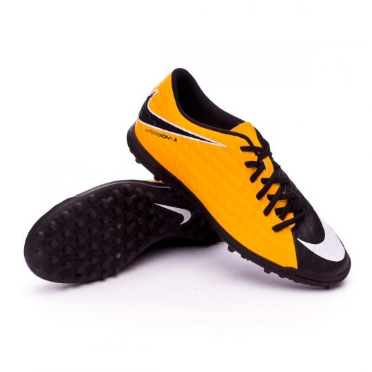 Zapatilla  Nike HypervenomX Phade III Turf Laser orange-Black-White-Volt