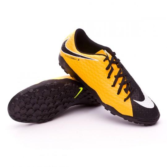 Zapatilla  Nike HypervenomX Phelon III Turf Laser orange-Black-White-Volt