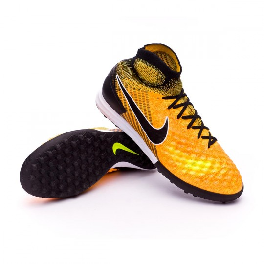 Zapatilla  Nike MagistaX Proximo II DF Turf Laser orange-Black-White-Volt