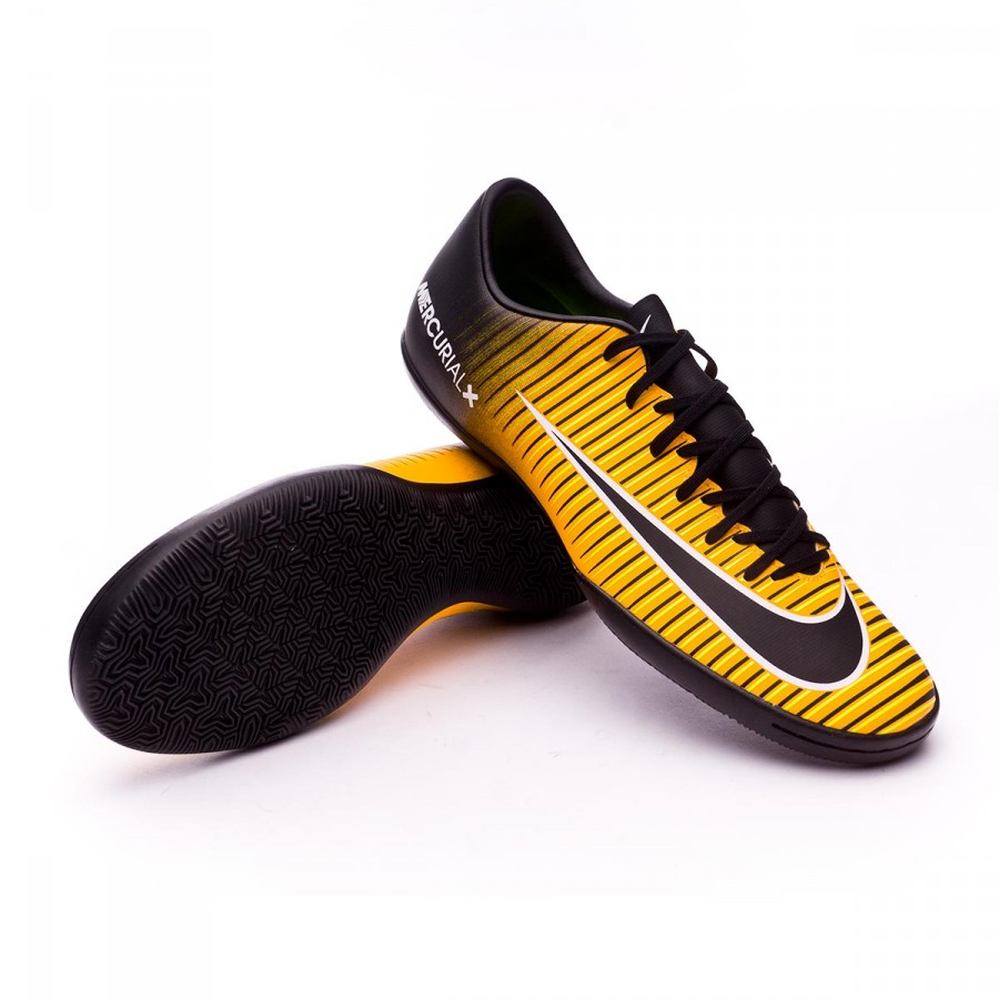 tonto Tiranía Cementerio  Futsal Boot Nike Mercurial Victory VI IC Laser orange-Black-White-Volt -  Football store Fútbol Emotion
