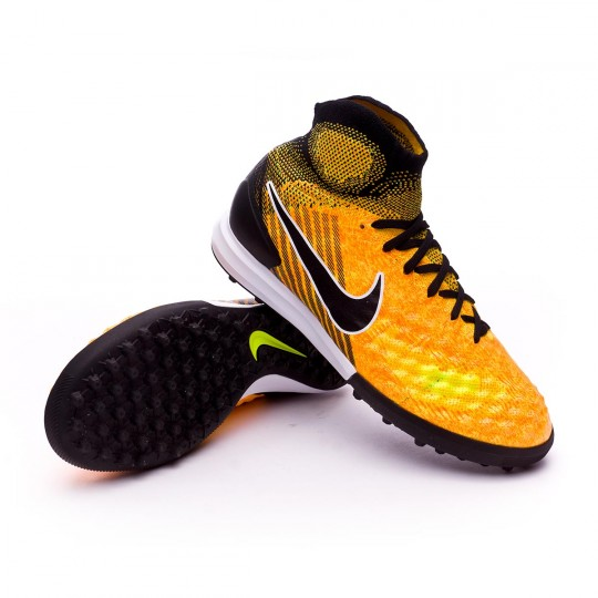 Zapatilla  Nike MagistaX Proximo II Turf Niño Laser orange-Black-White-Volt
