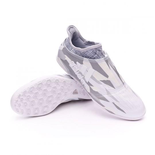 Sapatilha de Futsal  adidas X Tango 16+ Purechaos IN White-Mid grey
