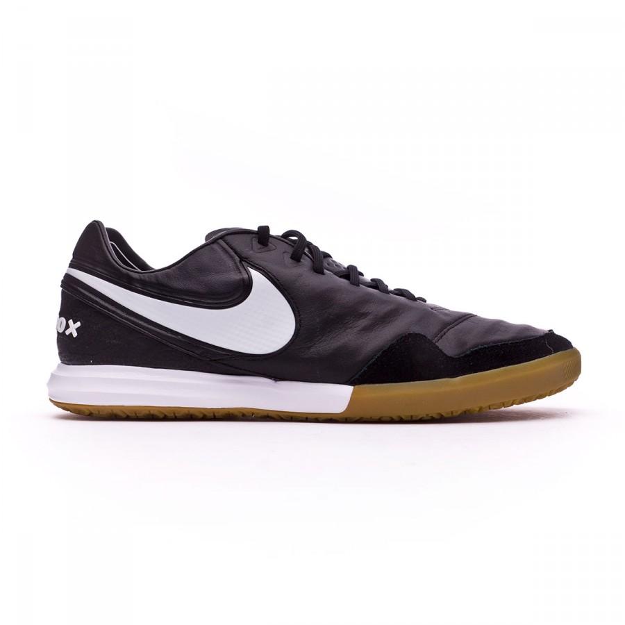 f71ff4394e10 Futsal Boot Nike TiempoX Proximo IC Black-Black gum-Light brown - Football  store Fútbol Emotion