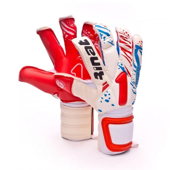Luvas  Rinat Asimetrik Pro Branco-Vermelho