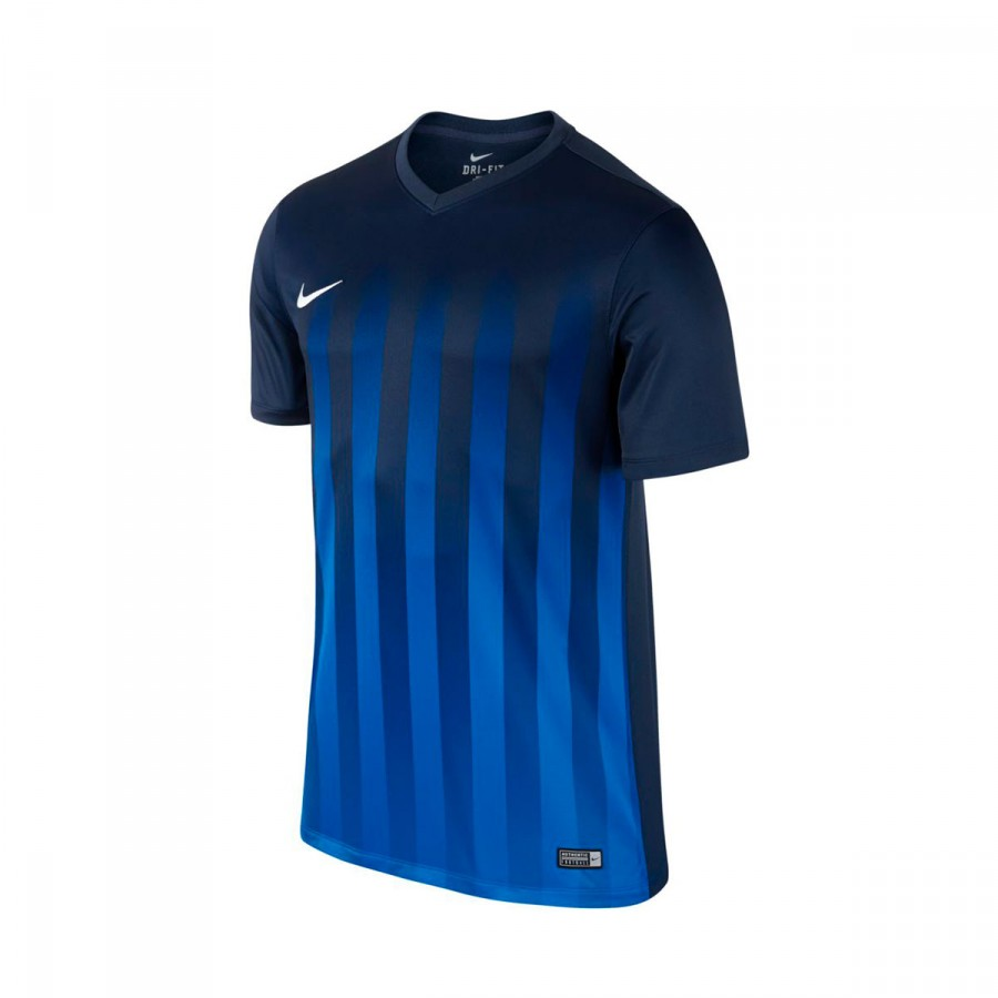 1e31a3febb42 Jersey Nike Striped Division II ss Midnight navy-Royal blue ...