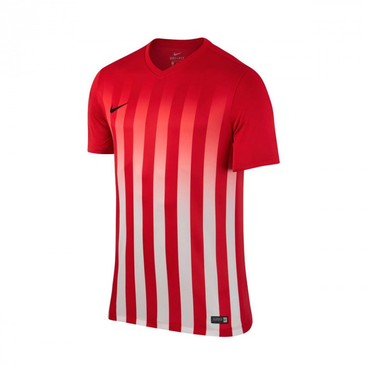 Jersey Nike Striped Division II ss University red-White ... a7c63c700ec36
