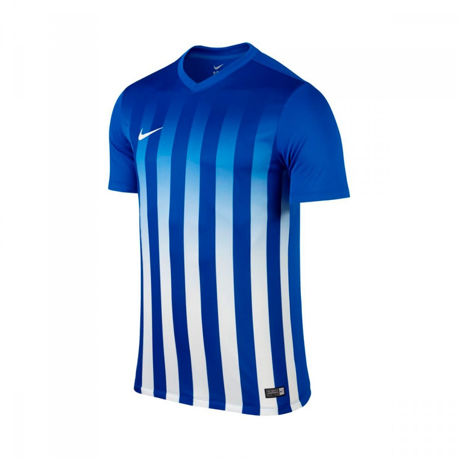 7b836ae375c9 Jersey Nike Striped Division II ss Royal blue-White - Football store ...