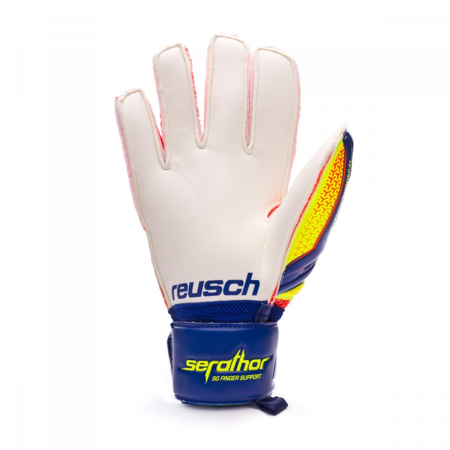 ... Guante Serathor SG Finger Support Dazzling blue-Safety yellow. CATEGORY 5435efed6