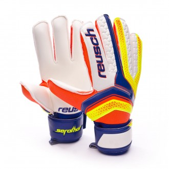 Guante  Reusch Serathor Dazzling blue-Safety yellow