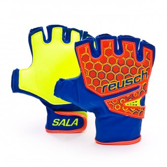 Guante  Reusch Futsal SG SFX Dazzling blue-Safety yellow