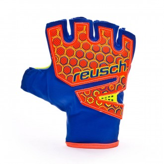 Glove  Reusch Futsal SG SFX Dazzling blue-Safety yellow