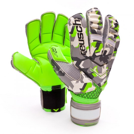 Glove  Reusch Re:load deluxe G2 Camou-Green gecko