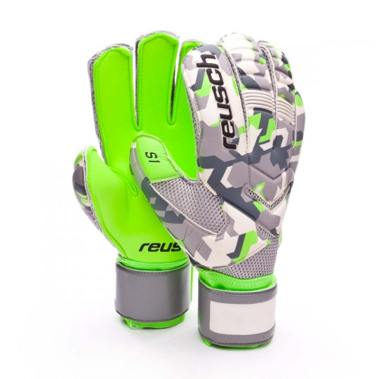 Glove  Reusch Re:load prime S1 Camou-Green gecko