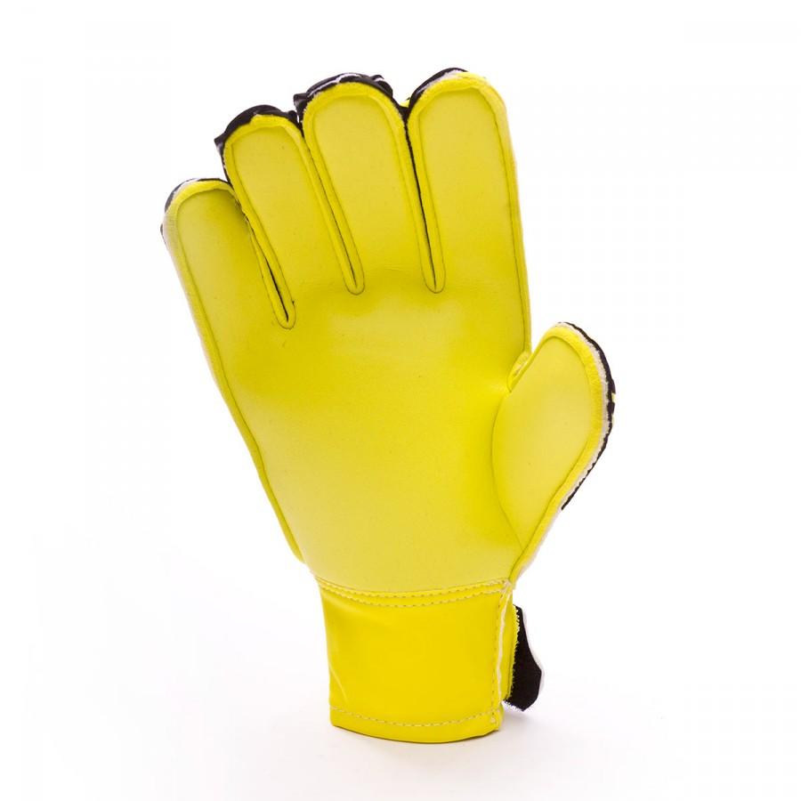 2126b1640 Glove Uhlsport Kids Eliminator Speed Up Soft SF Lite fluor yellow-Black-Hydro  blue - Tienda de fútbol Fútbol Emotion