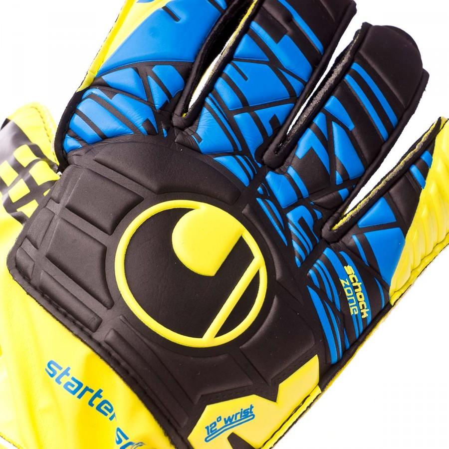 505834060 Glove Uhlsport Eliminator Speed Up Starter Soft Lite fluor yellow ...