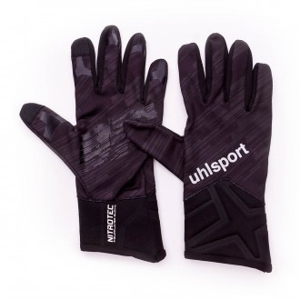 Luvas  Uhlsport Nitrotec Fieldplayer Black/Anthra