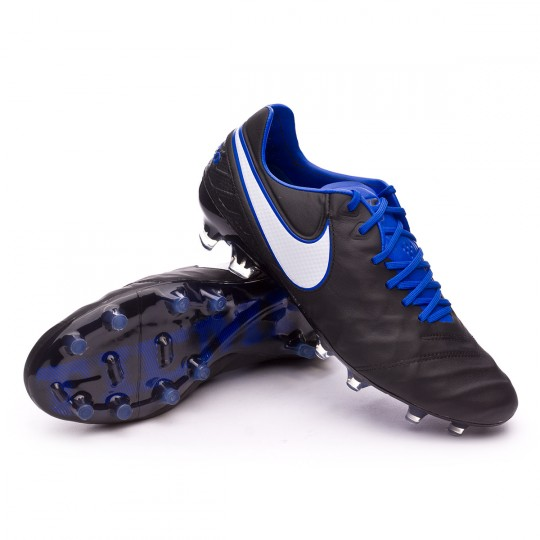 Scarpa  Nike Tiempo Legend VI ACC FG Black-Game royal