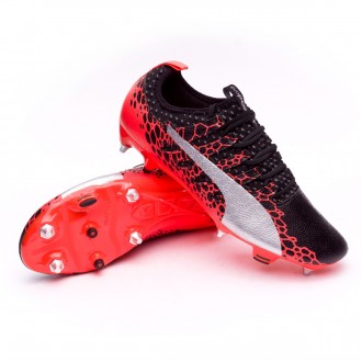 Scarpa  Puma evoPOWER Vigor 2 GRAPHIC SG Puma black-Puma white-Fiery coral