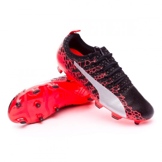 Scarpa  Puma evoPOWER Vigor 2 GRAPHIC FG Puma black-Puma white-Fiery coral