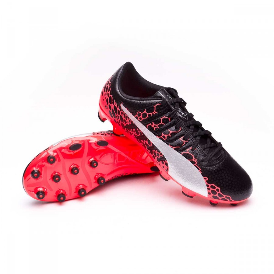 43796a283a5f Football Boots Puma evoPOWER Vigor 4 GRAPHIC AG Puma black-Puma ...