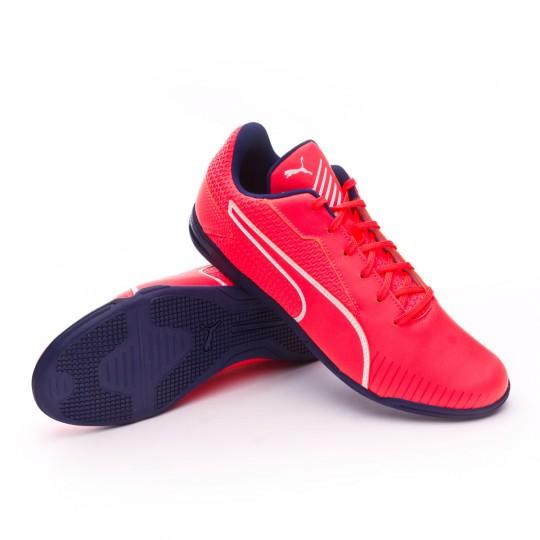 Sapatilha de Futsal  Puma 365 CT Fiery coral-Puma white-Toreador